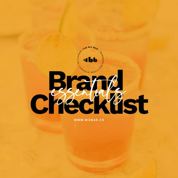 Branding Essentials Checklist